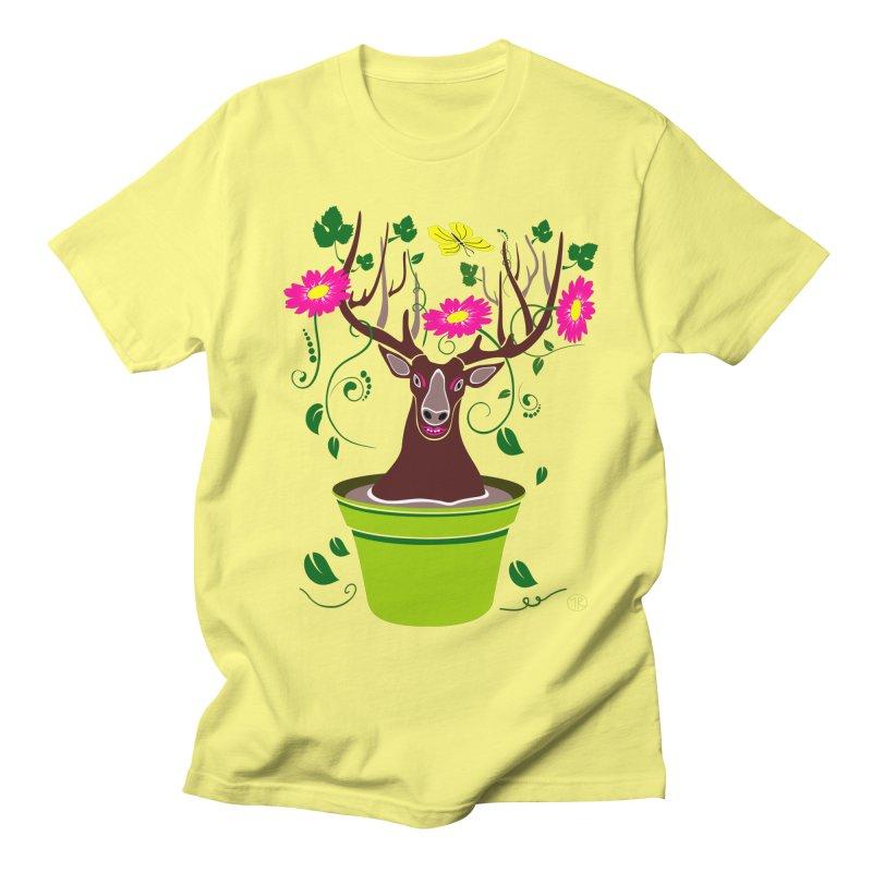 DearDeer Women's Unisex T-Shirt by mariabelonesart's Artist Shop