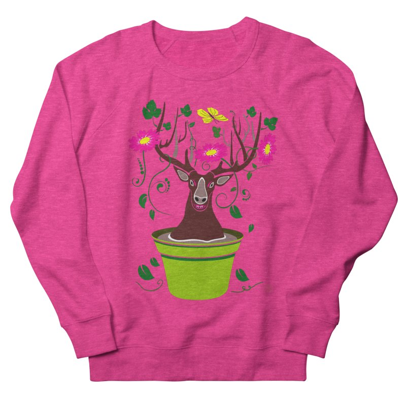 DearDeer Men's Sweatshirt by mariabelonesart's Artist Shop