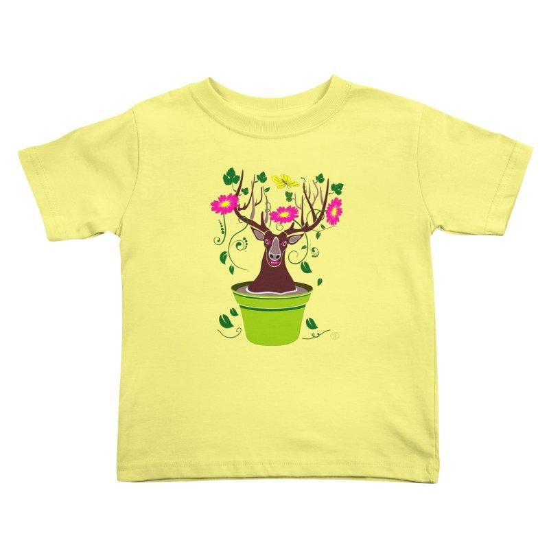 DearDeer Kids Toddler T-Shirt by mariabelonesart's Artist Shop