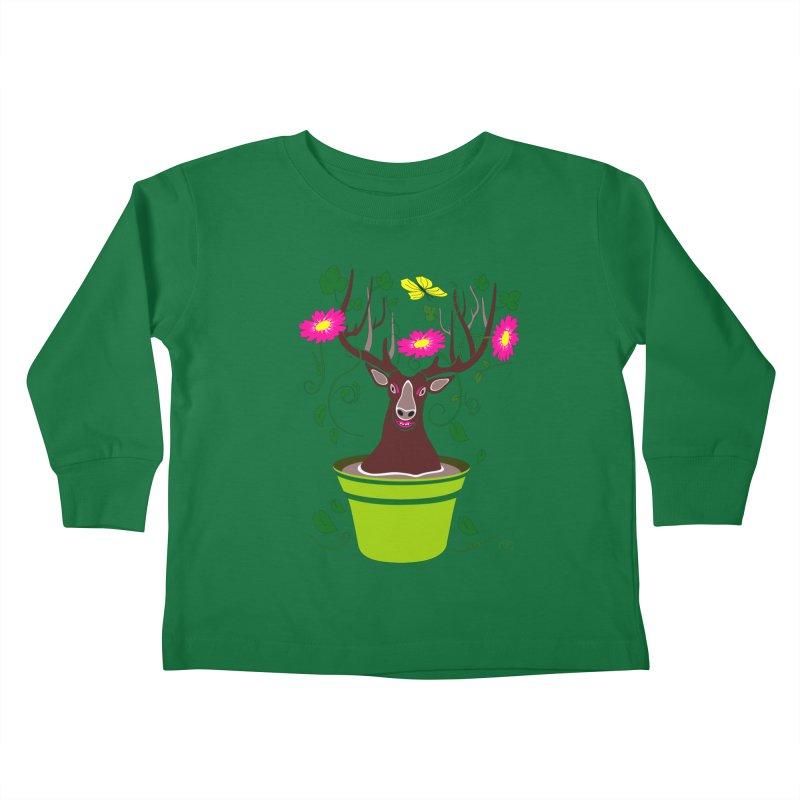 DearDeer Kids Toddler Longsleeve T-Shirt by mariabelonesart's Artist Shop
