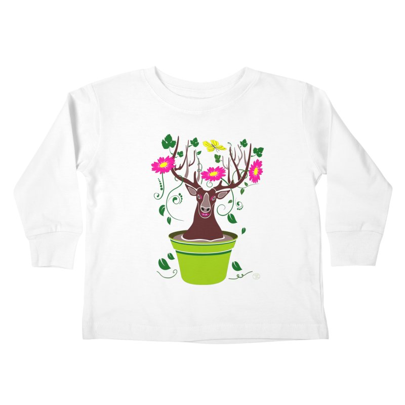 DearDeer Kids Toddler Longsleeve T-Shirt by MariabelonesART