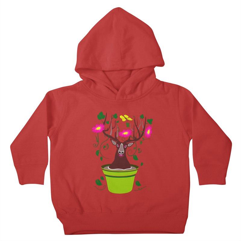 DearDeer Kids Toddler Pullover Hoody by mariabelonesart's Artist Shop