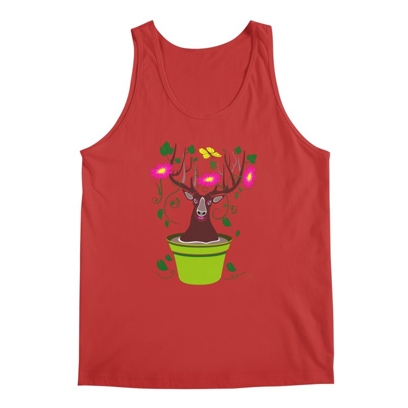 DearDeer Men's Tank by MariabelonesART