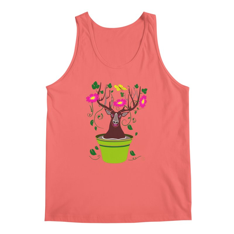 DearDeer Men's Tank by mariabelonesart's Artist Shop