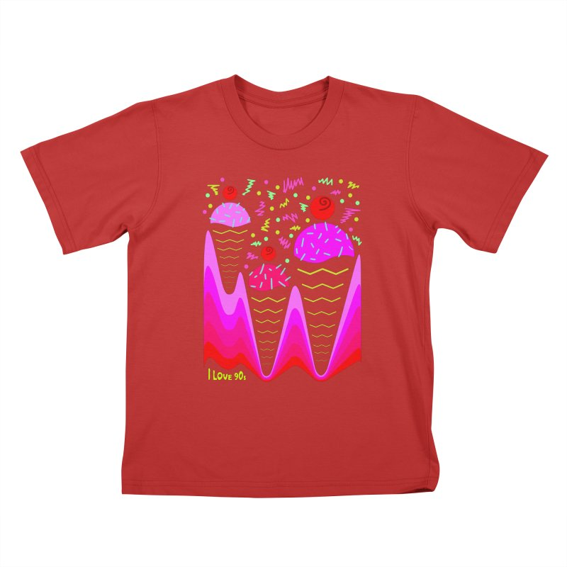 IceIceBaby Kids T-shirt by mariabelonesart's Artist Shop