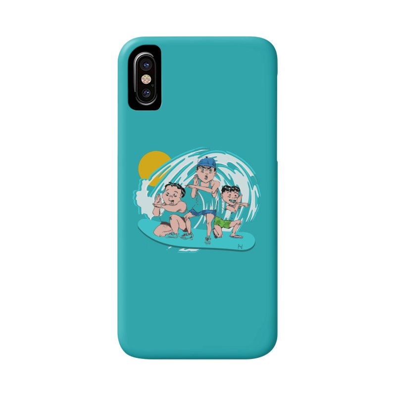 Tokyo Surfing Primary School Accessories Phone Case by mariabelonesart's Artist Shop