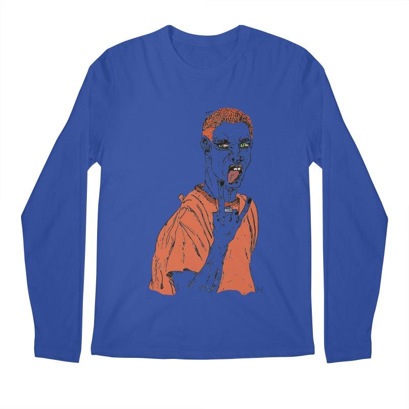 The REDman Men's Longsleeve T-Shirt by MariabelonesART
