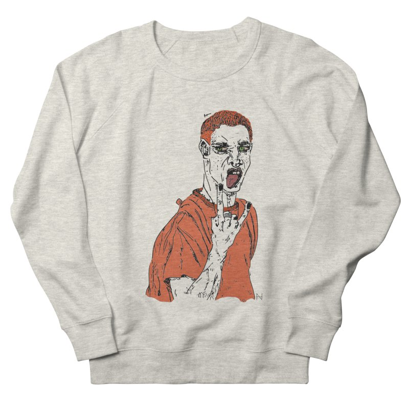 The REDman Men's Sweatshirt by mariabelonesart's Artist Shop