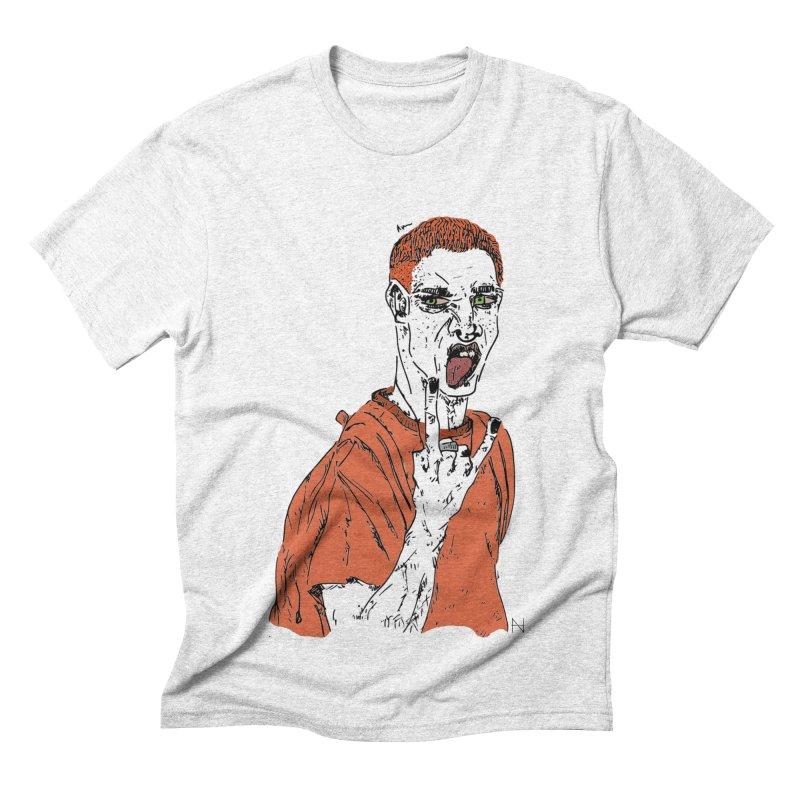 The REDman Men's Triblend T-shirt by mariabelonesart's Artist Shop