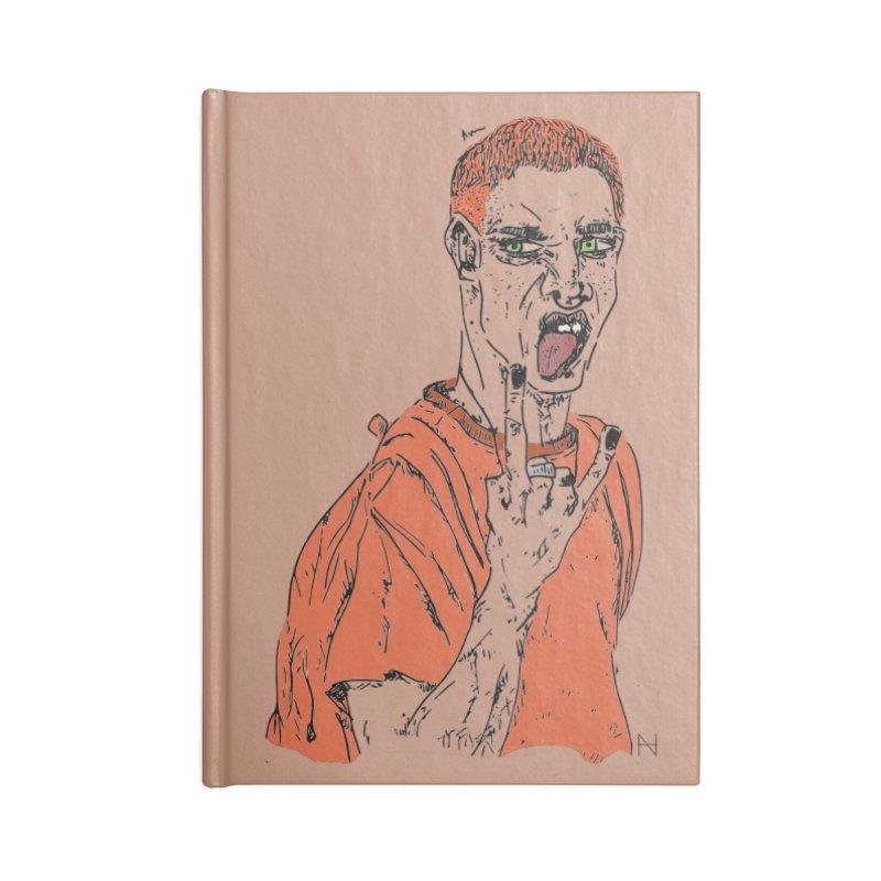 The REDman Accessories Notebook by mariabelonesart's Artist Shop