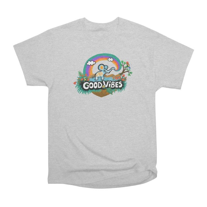 GOOD VIBES Men's T-Shirt by Art & design by Maria Daniela Hästö