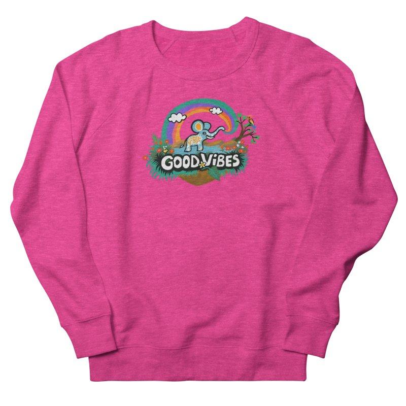 GOOD VIBES Men's Sweatshirt by Art & design by Maria Daniela Hästö