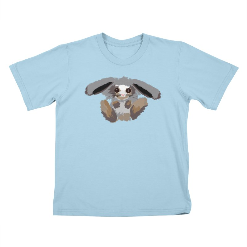 Bunny print Kids T-Shirt by Art & design by Maria Daniela Hästö