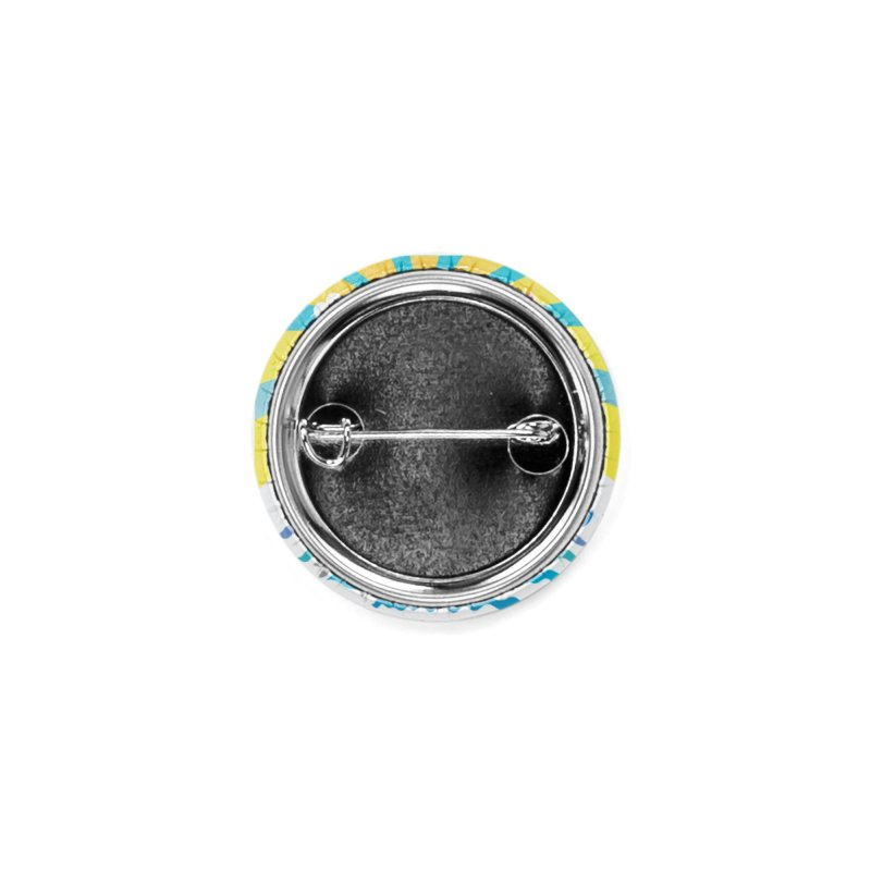 Happy mountain Accessories Button by Art & design by Maria Daniela Hästö