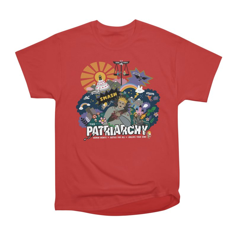 Smash patriarchy, freedom and justice for all Men's T-Shirt by Art & design by Maria Daniela Hästö