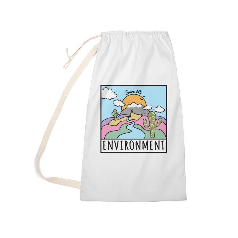 Save the environment Accessories Bag by Art & design by Maria Daniela Hästö