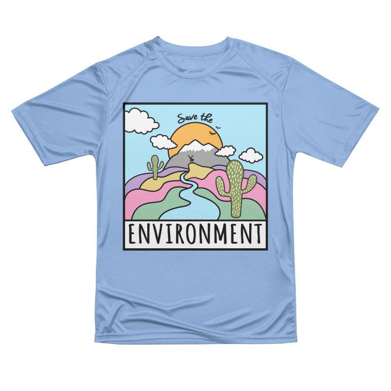 Save the environment Men's T-Shirt by Art & design by Maria Daniela Hästö