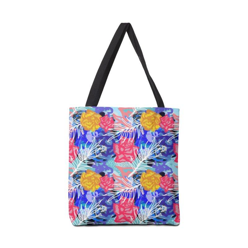 Floral pattern Accessories Bag by Art & design by Maria Daniela Hästö