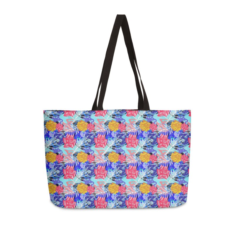 Floral pattern Accessories Bag by Art & design by Maria Daniela Hästö