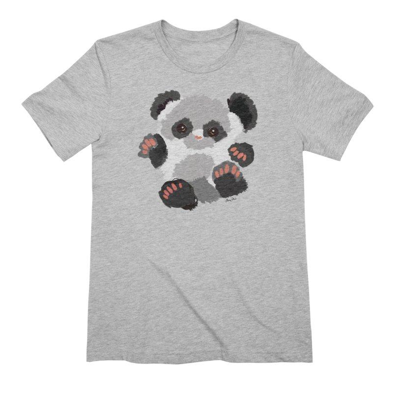 Baby panda Men's T-Shirt by Art & design by Maria Daniela Hästö