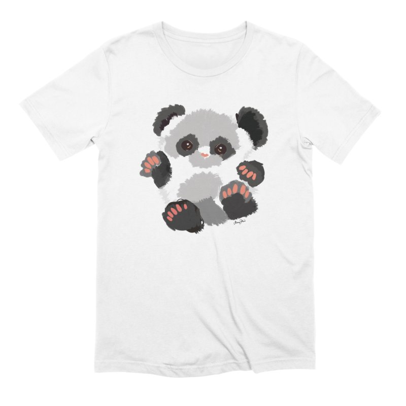 Baby panda Men's T-Shirt by Art & design by Maria Daniela Hästö