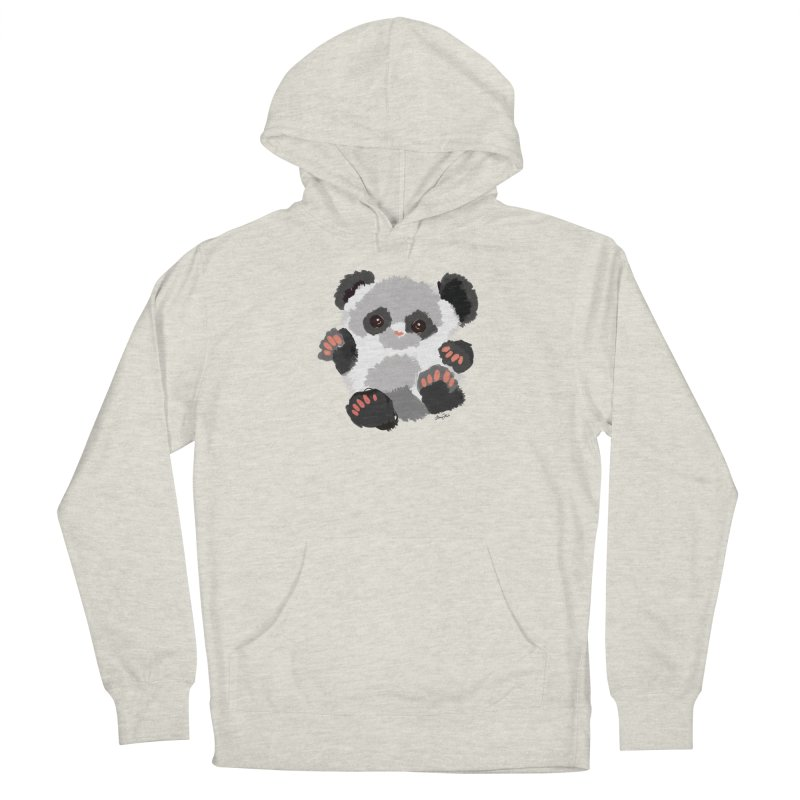 Baby panda Men's Pullover Hoody by Art & design by Maria Daniela Hästö