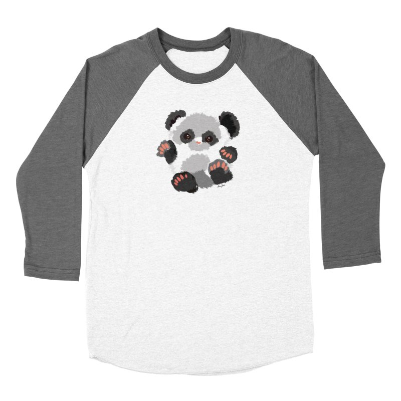 Baby panda Women's Longsleeve T-Shirt by Art & design by Maria Daniela Hästö
