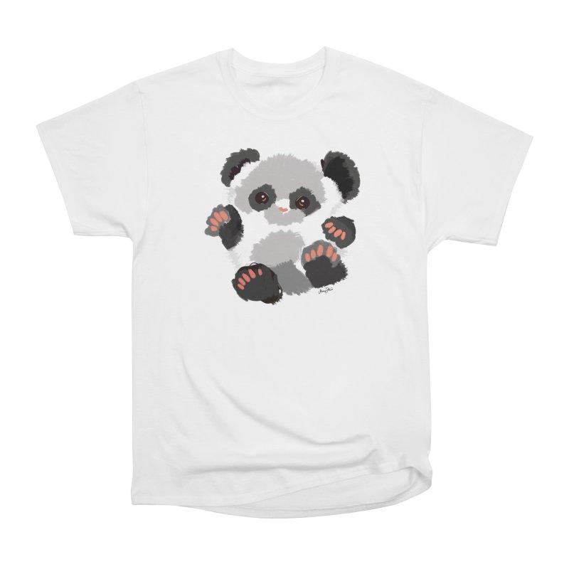 Baby panda Women's T-Shirt by Art & design by Maria Daniela Hästö