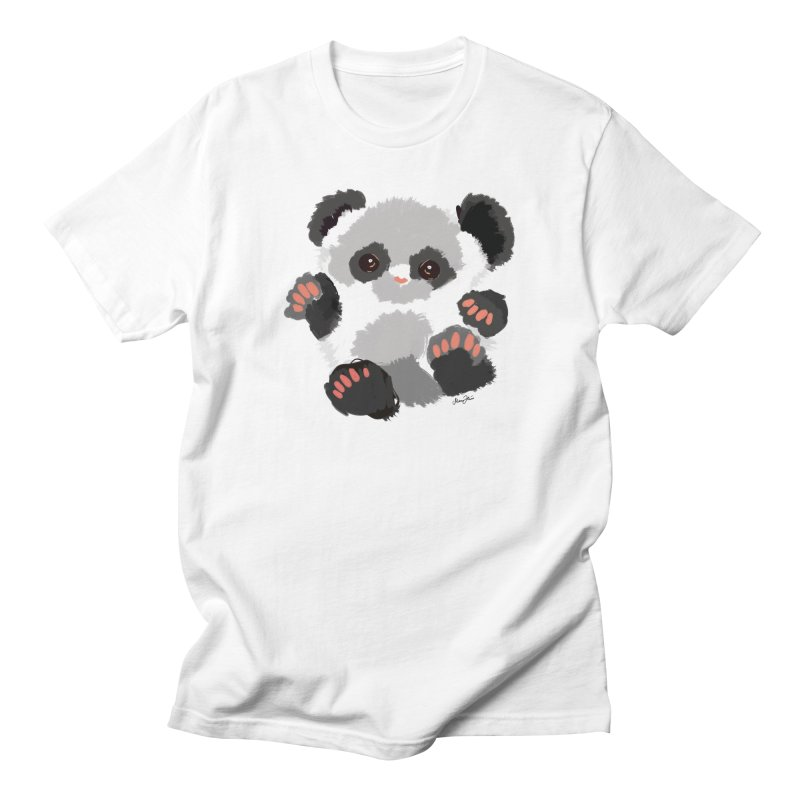 Baby panda Women's T-Shirt by Art & design by Maria Daniela Hästö