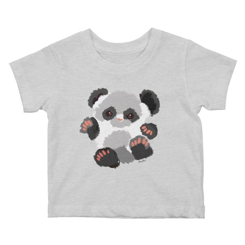 Baby panda Kids Baby T-Shirt by Art & design by Maria Daniela Hästö