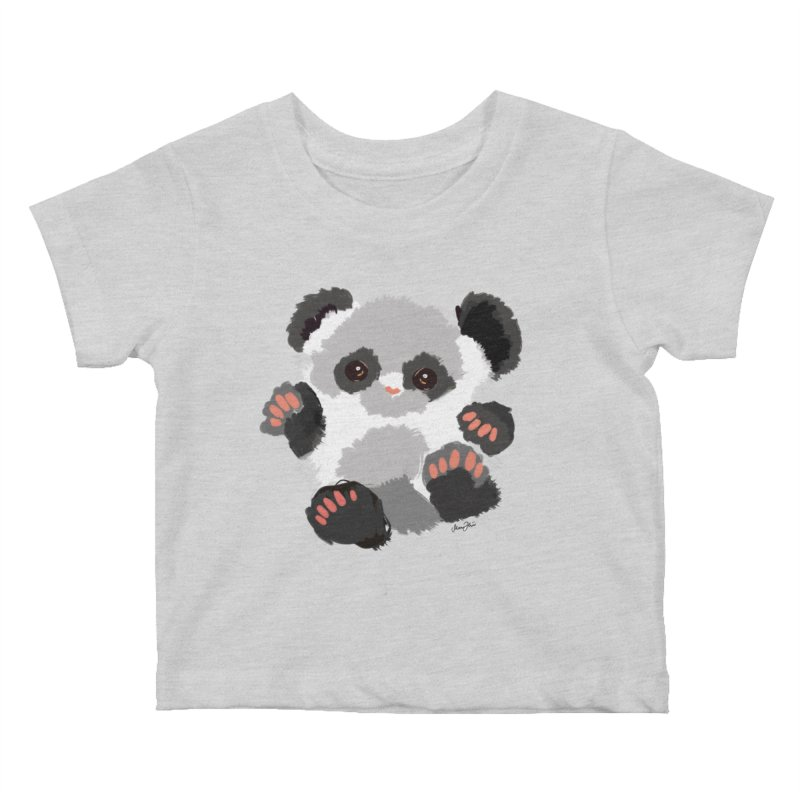 Baby panda Kids Baby T-Shirt by Art & design by Maria Daniela Hästö
