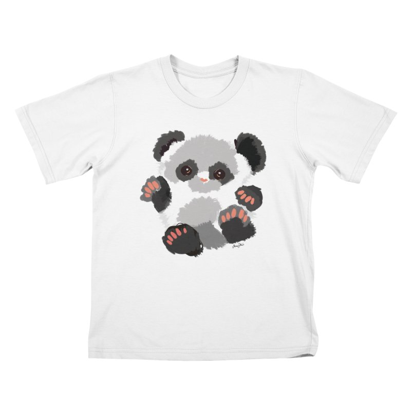 Baby panda Kids T-Shirt by Art & design by Maria Daniela Hästö