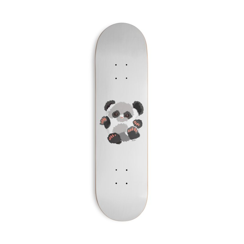 Baby panda Accessories Skateboard by Art & design by Maria Daniela Hästö
