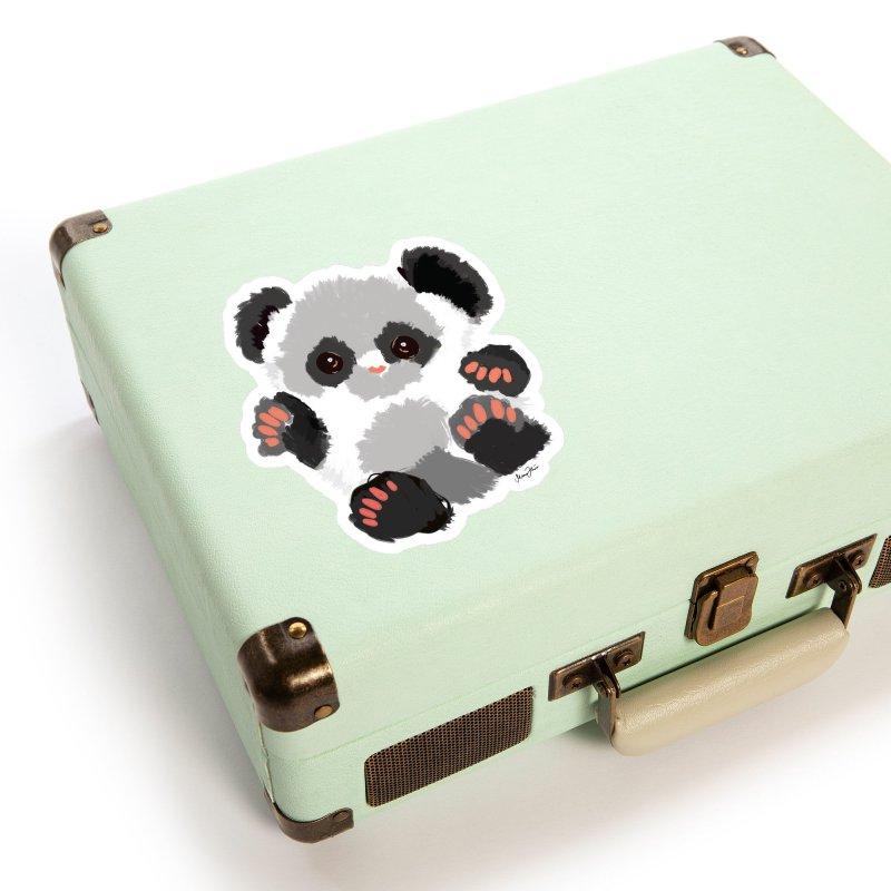 Baby panda Accessories Sticker by Art & design by Maria Daniela Hästö
