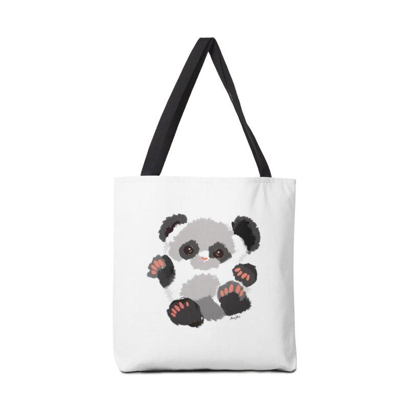 Baby panda Accessories Bag by Art & design by Maria Daniela Hästö