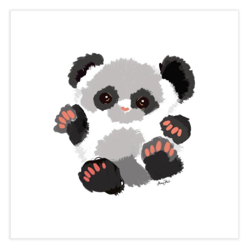 Baby panda Home Fine Art Print by Art & design by Maria Daniela Hästö