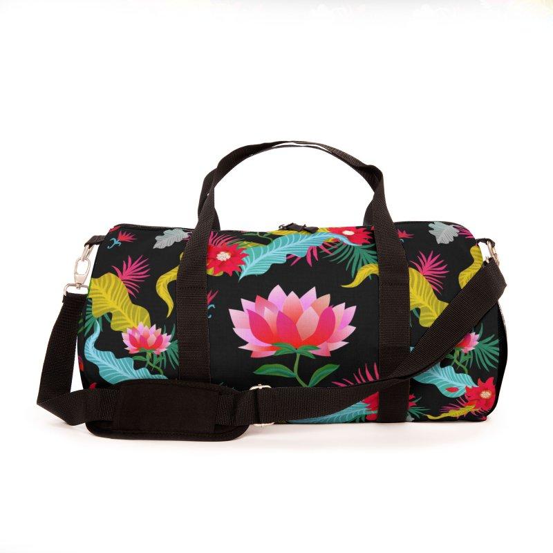 Lotus Accessories Bag by Art & design by Maria Daniela Hästö