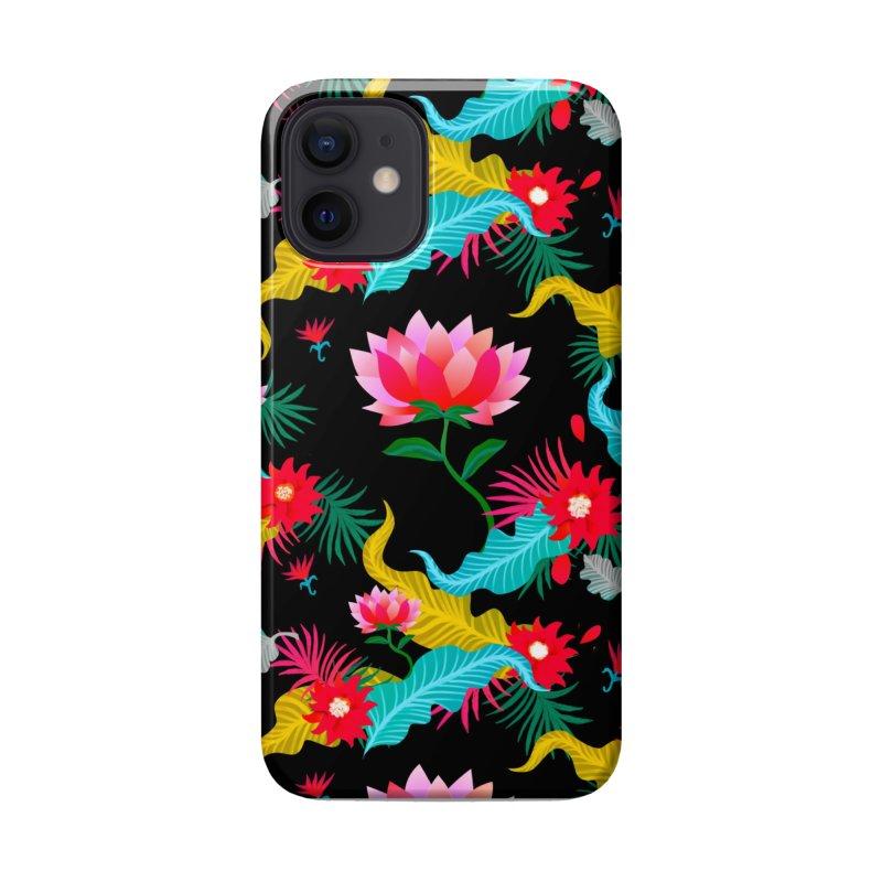 Lotus Accessories Phone Case by Art & design by Maria Daniela Hästö