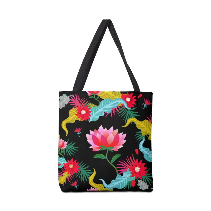 Lotus Accessories Bag by Art & design by Maria Daniela Hästö