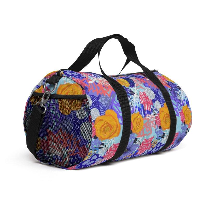 Wild flowers Accessories Bag by Art & design by Maria Daniela Hästö
