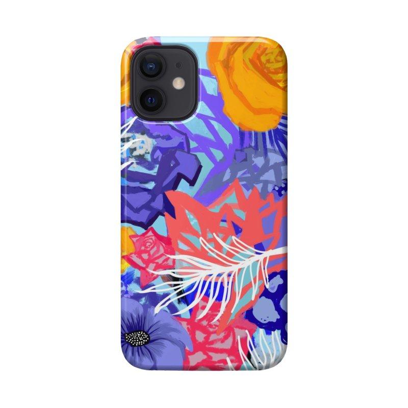 Wild flowers Accessories Phone Case by Art & design by Maria Daniela Hästö