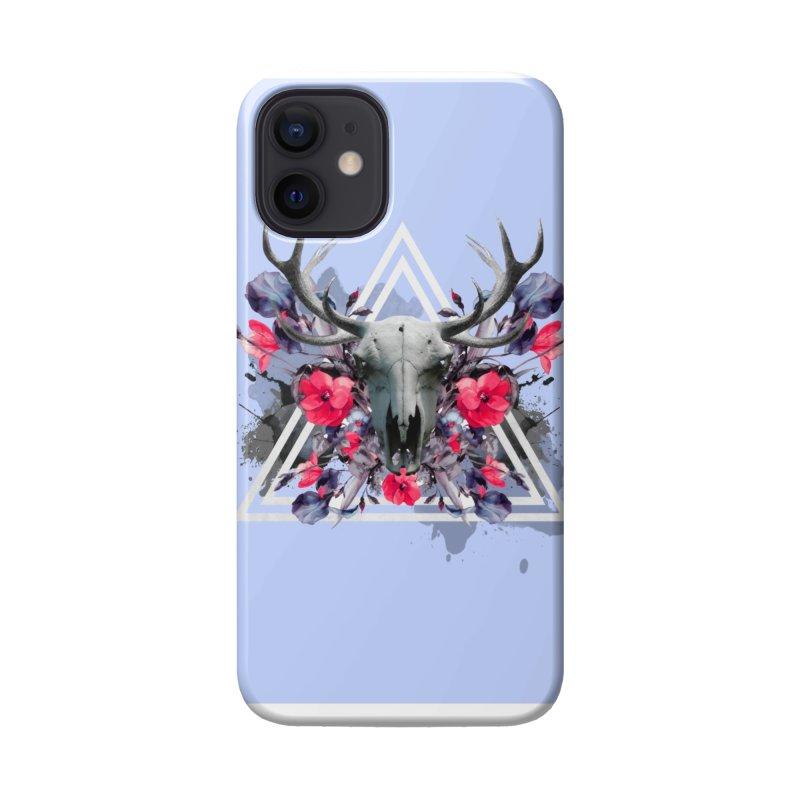 Floral deerprint Accessories Phone Case by Art & design by Maria Daniela Hästö