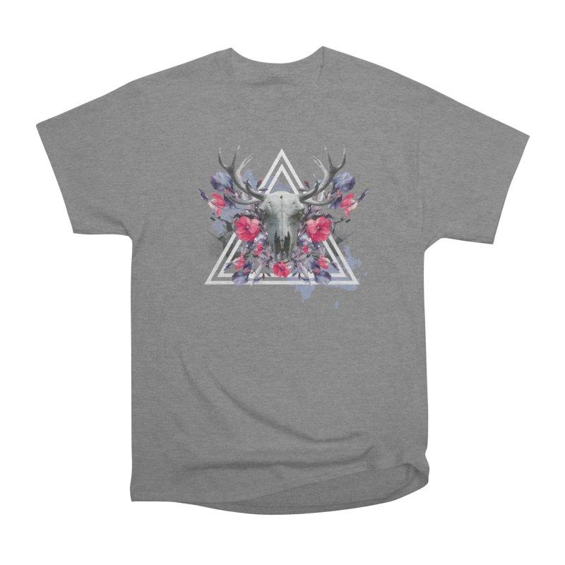 Floral deerprint Men's T-Shirt by Art & design by Maria Daniela Hästö