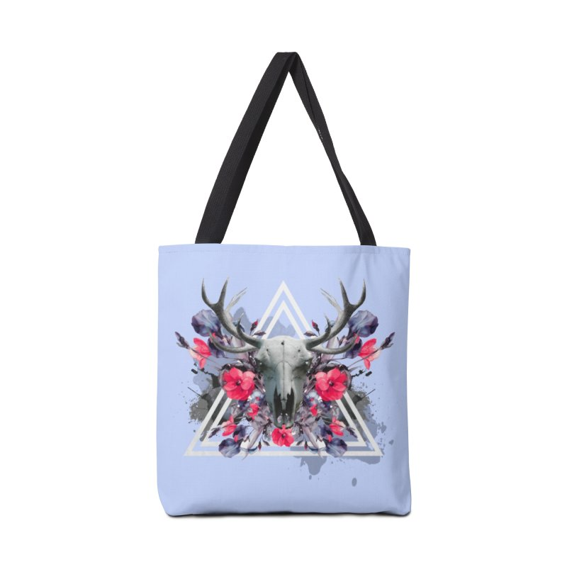 Floral deerprint Accessories Bag by Art & design by Maria Daniela Hästö