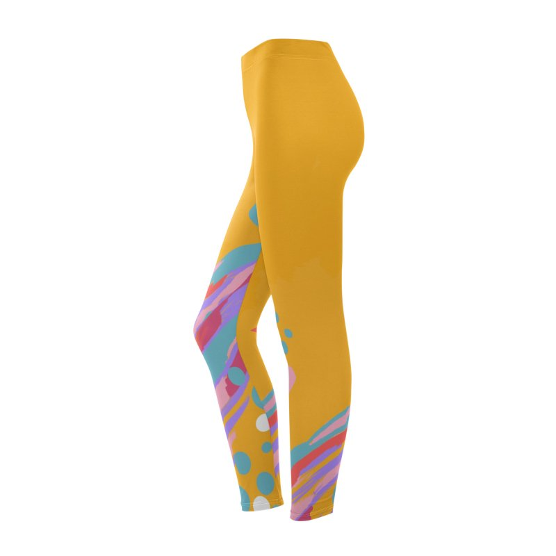 funky abstract print Women's Bottoms by Art & design by Maria Daniela Hästö