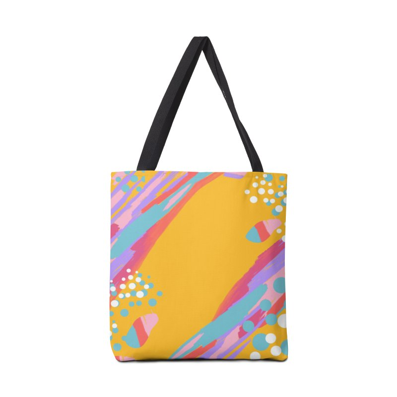 funky abstract print Accessories Bag by Art & design by Maria Daniela Hästö