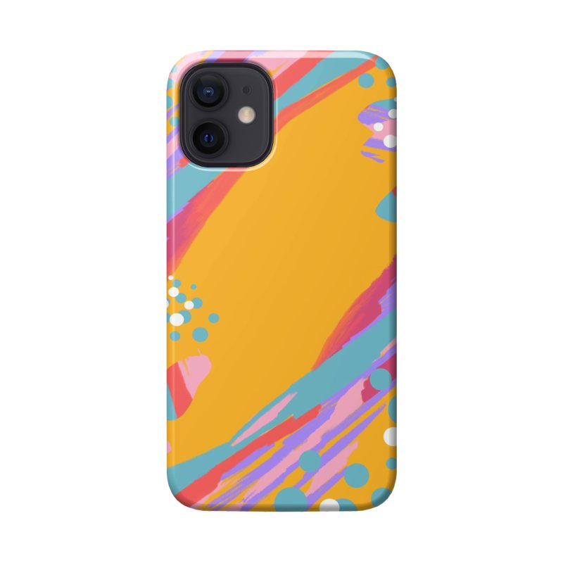 funky abstract print Accessories Phone Case by Art & design by Maria Daniela Hästö