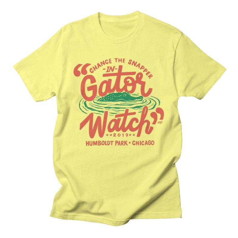 Gator Watch Men's T-Shirt by 5 Eye Studio