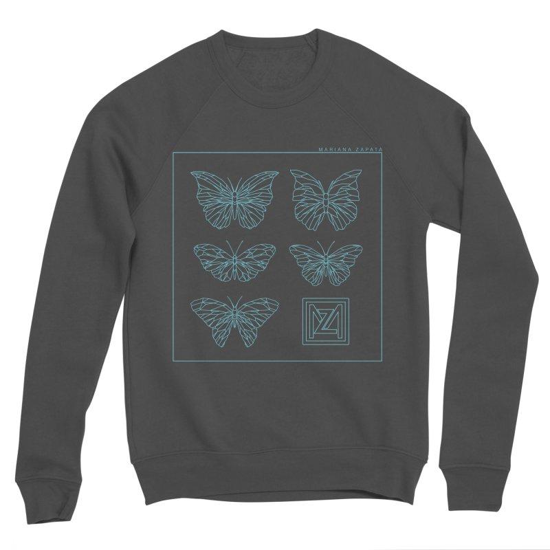 MZ Butterflies 1 Women's Sponge Fleece Sweatshirt by M A R I A N A    Z A P A T A