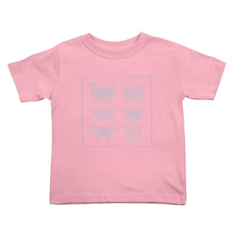 MZ Butterflies 1 Kids Toddler T-Shirt by M A R I A N A    Z A P A T A